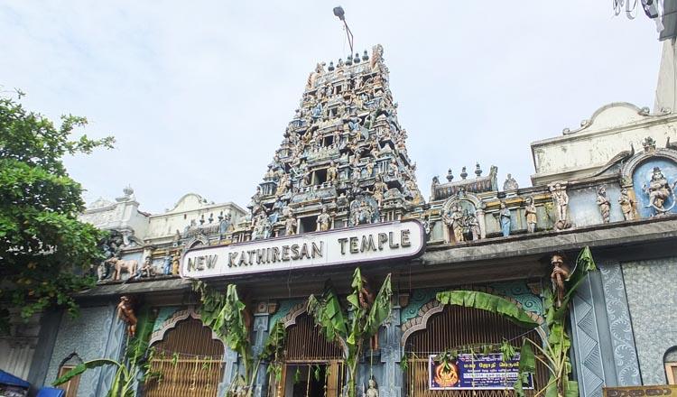 Hindu temples in Pettah and Kotahena