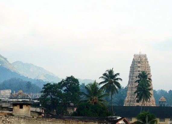 Matale Town in Sri Lanka