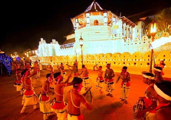 Sri Lanka Monsoons and Festivals Through The Year