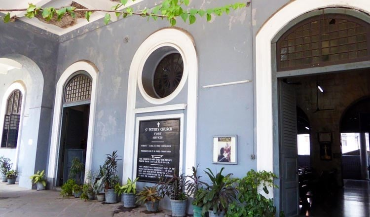St Peter's Church Colombo